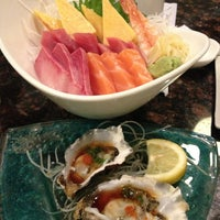 Photo taken at SUSHIRAW by Stacey T. on 9/8/2013