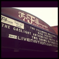 Photo prise au Fillmore Auditorium par Zeffanie M. le9/25/2012