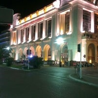 Photo taken at Hyatt Regency Nice Palais de la Mediterranee by Grzegorz S. on 9/16/2012