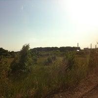 Photo taken at пляж на Липецком море by Alina K. on 6/15/2013