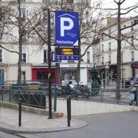 Photo taken at Parking Des Patriarches by Adrien J. on 6/3/2013