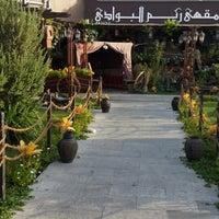 Photo taken at Reem al Bawadi مطعم ومقهى ريم البوادي by Nsh ⚜. on 7/5/2013