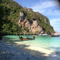 Photo taken at Phi Phi Islands by Julie M. on 2/9/2013