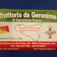 Photo taken at Trattoria da Geronimo by Roby R. on 7/26/2013