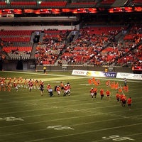 Photo taken at BC Place by Jay M. on 9/15/2012
