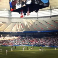 Photo taken at BC Place by Jay M. on 9/23/2012