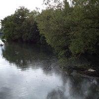 Photo taken at Pont de Peney by Jason A. on 5/1/2014