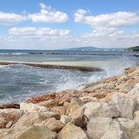 Photo taken at Балчик New Beach by Alex F. on 7/1/2014