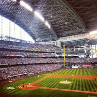 Photo taken at Miller Park by Laura B. on 5/25/2013