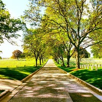 Photo taken at Wood National Cemetery by Laura B. on 6/2/2013