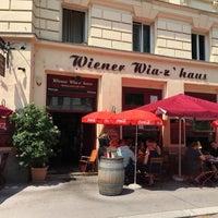Photo taken at Wiener Wiaz'Haus by Jenni K. on 6/21/2017