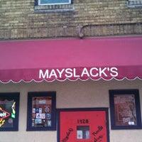 Photo taken at Mayslack's by Troy B. on 2/21/2013