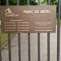 Photo taken at Parc de Merl by Irina R. on 7/12/2014