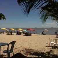 Photo taken at Praia do Chapéu Virado by Patrick S. on 7/12/2013