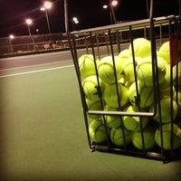 Photo taken at Santa Barbara Municipal Tennis Courts by Jacob T. on 3/5/2013