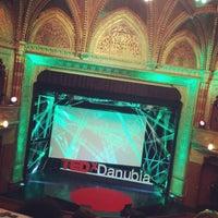 Photo taken at TEDxDanubia@Uránia by Zsuzsi R. on 5/19/2016