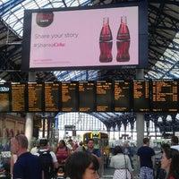Photo taken at Brighton Railway Station (BTN) by Harold C. on 7/13/2013