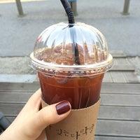 Photo taken at 커피가있는다락방 by CHOE S. on 4/8/2014