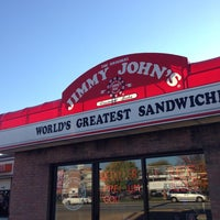 Photo taken at Jimmy John's by Aaron H. on 10/21/2013