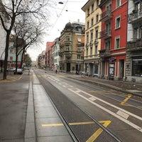 Photo taken at VBZ Fröhlichstrasse by Sezgin M. on 10/29/2017