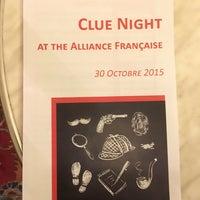 Photo taken at Alliance Française de Washington by Kevin H. on 10/30/2015