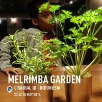 Photo taken at Melrimba Garden by Pujo S. on 5/10/2014