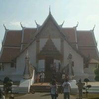 Photo taken at Wat Phu Mintr by X-Pawatchai K. on 12/31/2012
