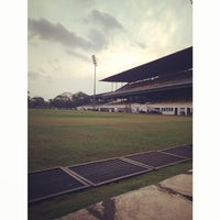 Photo taken at Colombo Racecourse by Bishan S. on 2/21/2014