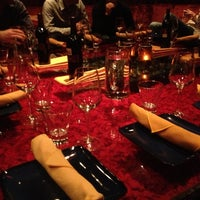 Photo taken at Spice Route Asian Bistro + Bar by Meghan K. on 10/24/2012