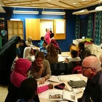Photo taken at Rinkeby bibliotek by Joakim T. on 10/21/2014