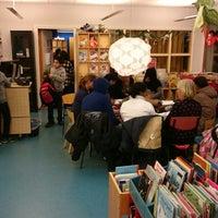 Photo taken at Rinkeby bibliotek by Joakim T. on 12/9/2014
