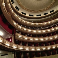 Photo taken at Vienna State Opera by coldwellm on 12/22/2012