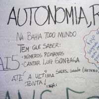Photo taken at Centro Acadêmico Livre de Ciências Sociais (CALCSO) by Saulo S. on 4/15/2014