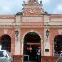 Photo taken at Mercado Municipal do Café by Rafael L. on 2/13/2014
