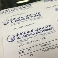 Photo taken at Al Ansari Exchange by Kansas W. on 10/25/2014
