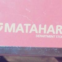 Photo taken at Matahari Department Store by Muhammad Afif B. on 6/21/2014