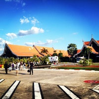 Photo taken at Siem Reap International Airport (REP) by Shaheen A. on 12/15/2012