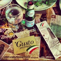 Photo taken at Gusto by Shaheen A. on 10/4/2012