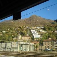 Photo taken at Stazione di Bellinzona by Tania Sade on 10/26/2017