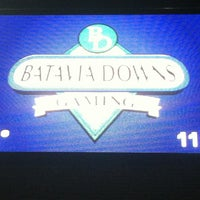 Photo taken at Batavia Downs Gaming & Racetrack by Johnny M. on 9/17/2013