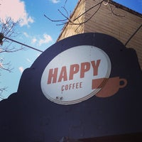 Photo taken at Happy Coffee by Brooke M. on 1/27/2013