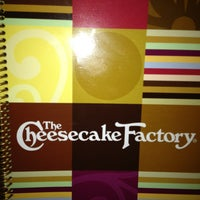 Photo taken at The Cheesecake Factory by Amy M. on 6/22/2013