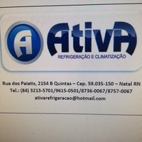 Photo taken at Ativa Refrigeração by Iule A. on 6/13/2013