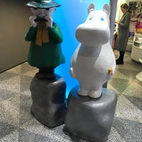 Photo taken at Moomin Shop by Johan S. on 11/20/2016