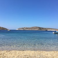 Photo taken at Campi Beach by Philippos M. on 7/21/2018