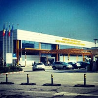 "Photo taken at Cluj-Napoca ""Avram Iancu"" International Airport (CLJ) by Ioana 🚲✈🚀 C. on 10/11/2013"