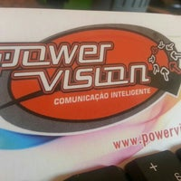Photo taken at Power Vision by Caio C. on 6/12/2013