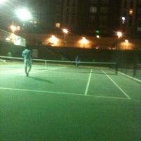 Photo taken at İnnovia 2 Tenis Kortu by Rose.... B. on 7/8/2013