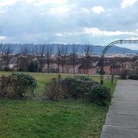 Photo taken at Parc Des Échelles by Johann K. on 3/1/2014