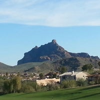Photo taken at Desert Canyon Golf Club by Frank A. on 3/2/2013
